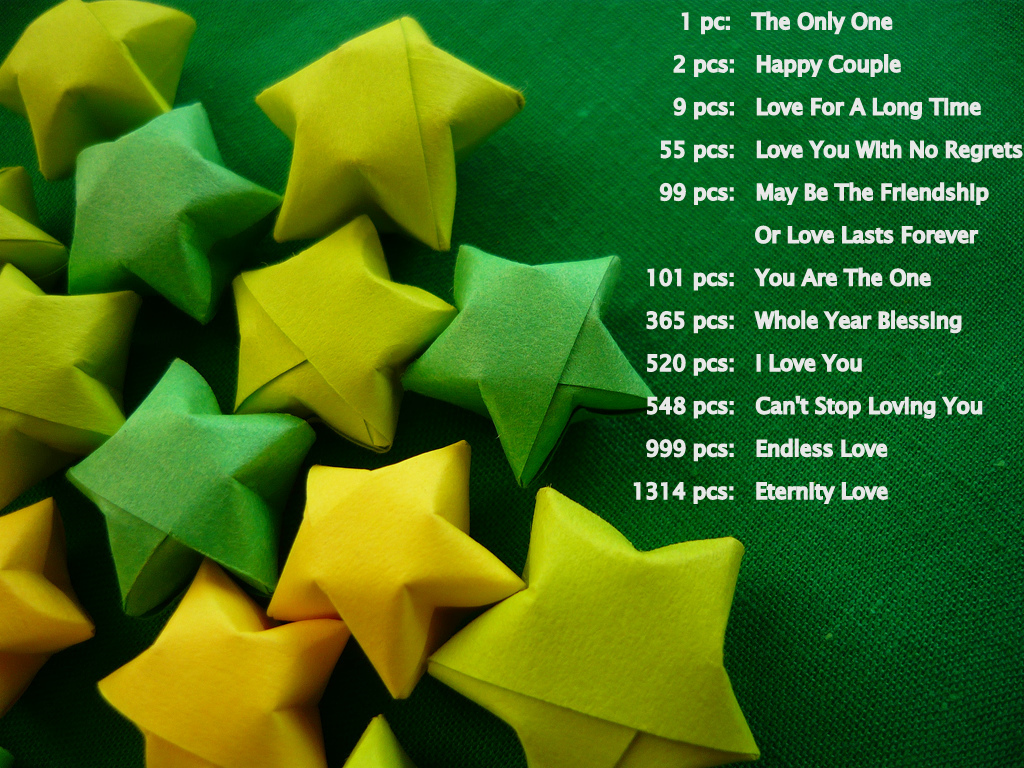 How to Make Origami Lucky Stars | 768x1024